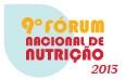 9º Fórum Nacional de Nutrição